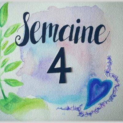 Semaine 4