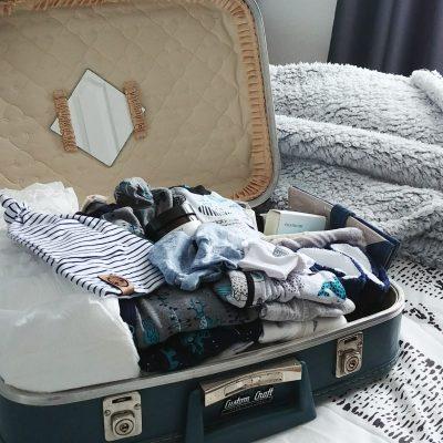 Ma valise de bébé –  Un défi de « Fabriqué au Québec »